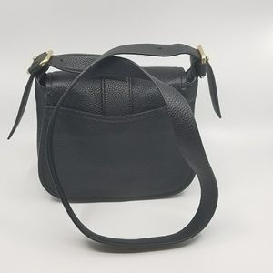 71b27f1dd151 Michael Kors Bags - Michael Kors Maxine Large Saddle Bag Leather Black